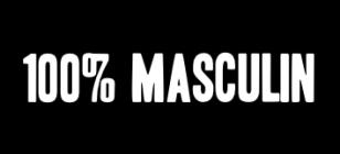 100% masculin