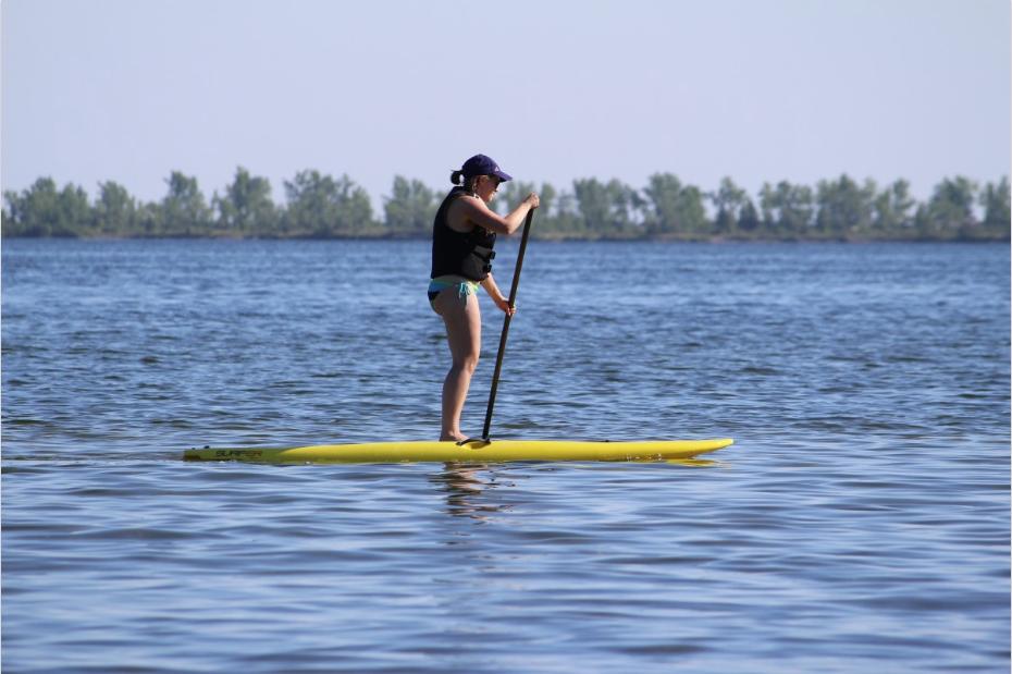Paddle sport d'été sports