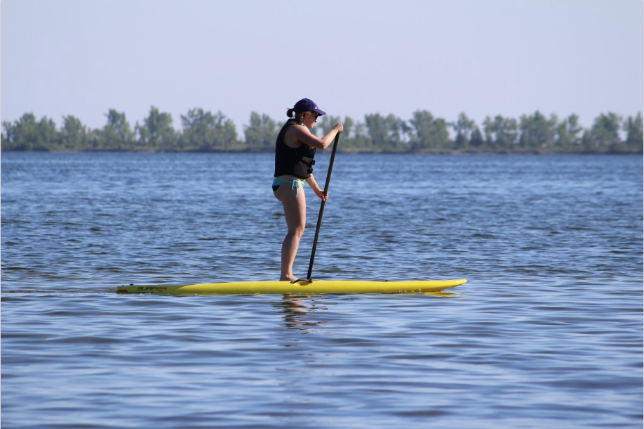Paddle sport d'été sports