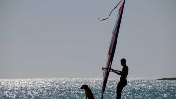 mer planche à voile sports été sport